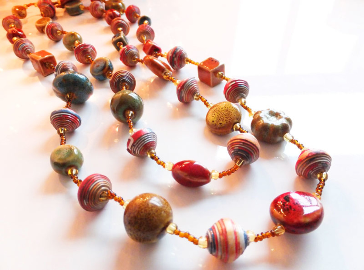 World Vision handcrafted necklace_$100