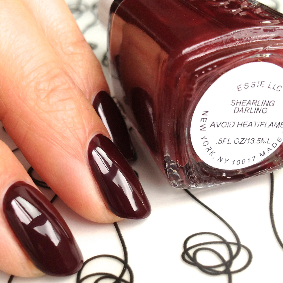 Essie Shearling Darling winter 2013