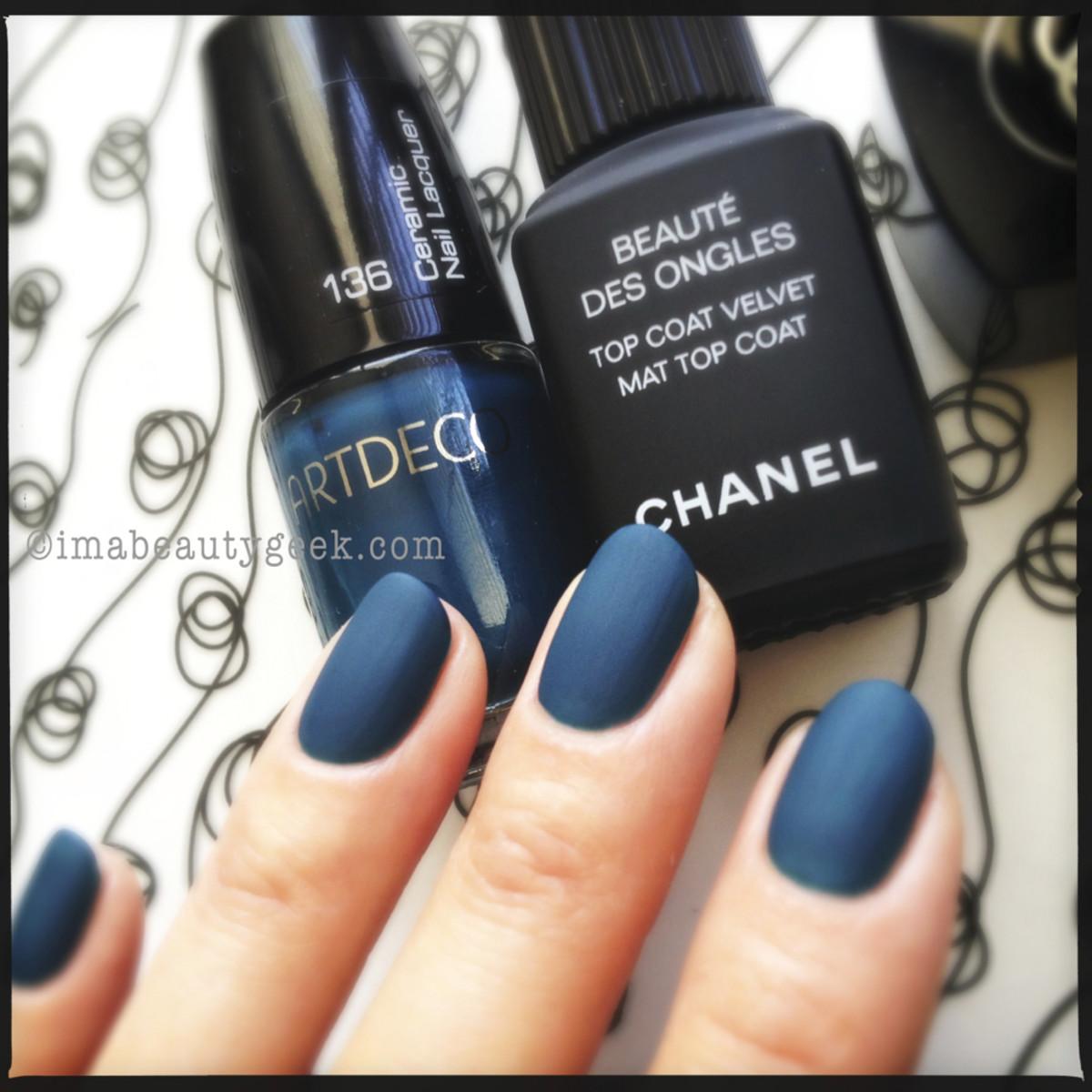 Chanel Mat Top ARTDECO 136