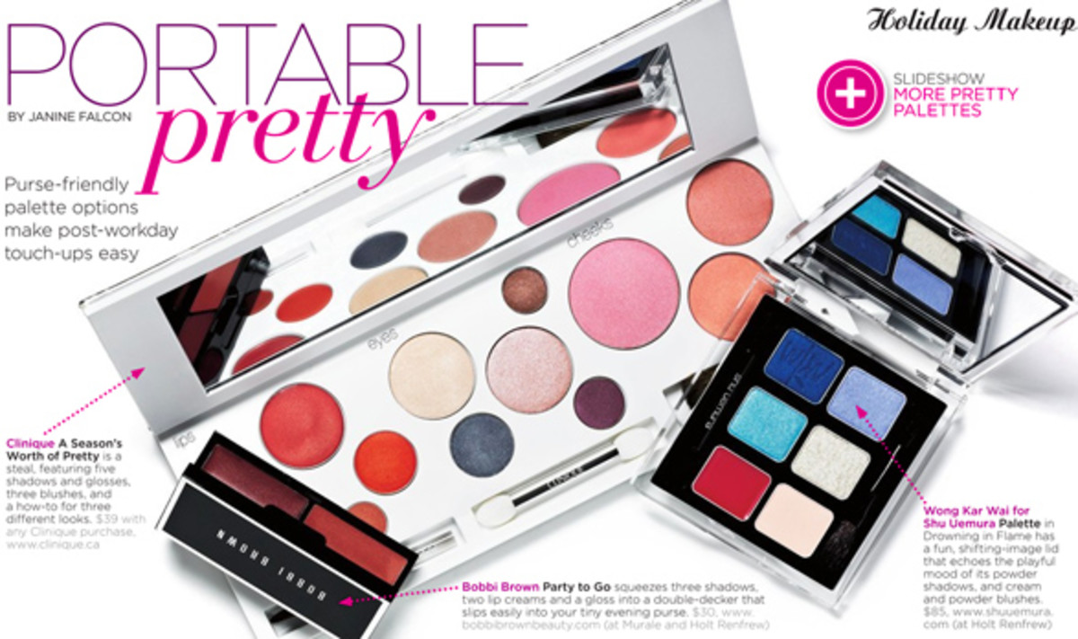 The Kit holiday palettes