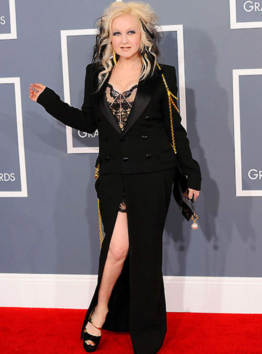 Cyndi Lauper_Grammy Awards 2012