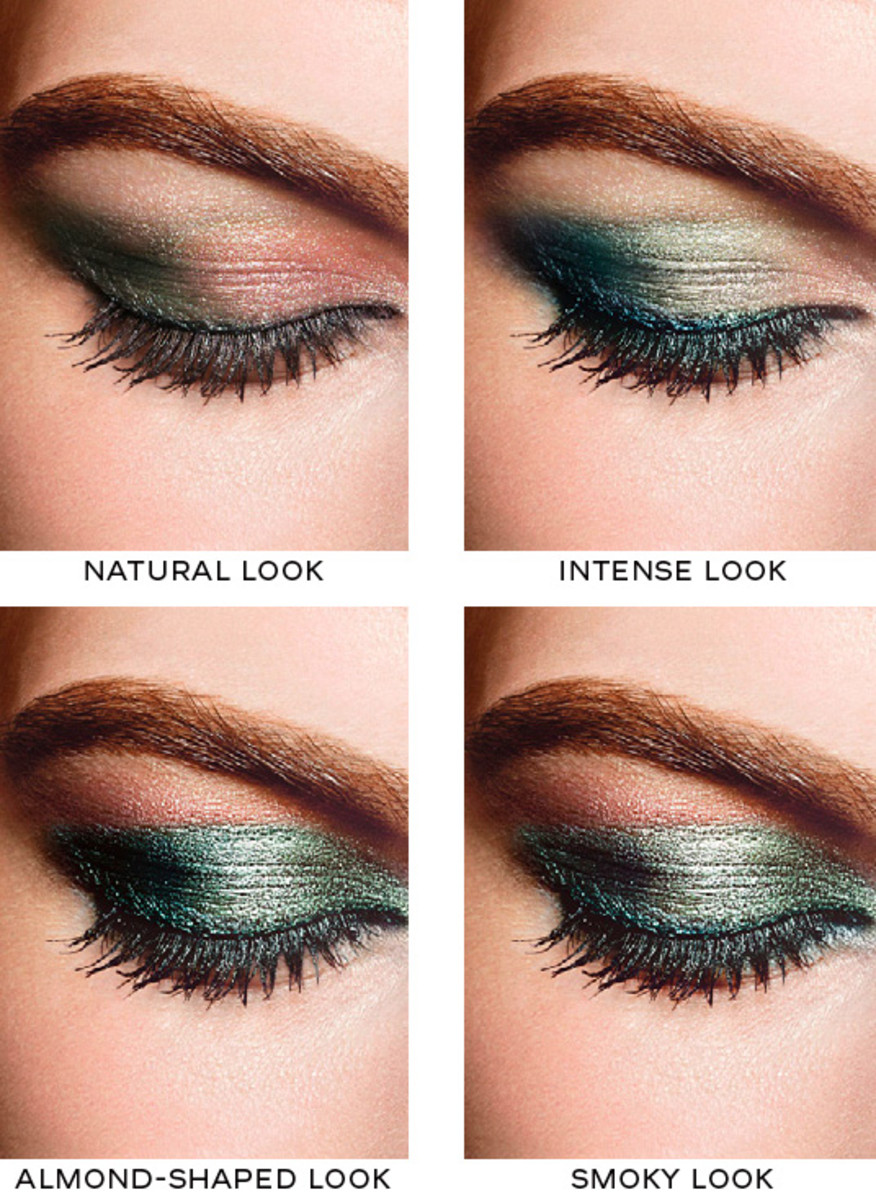 Eye Makeup Youtube: Chanel Eye Makeup Chart: How To Wear Chanel Les 4 Ombres