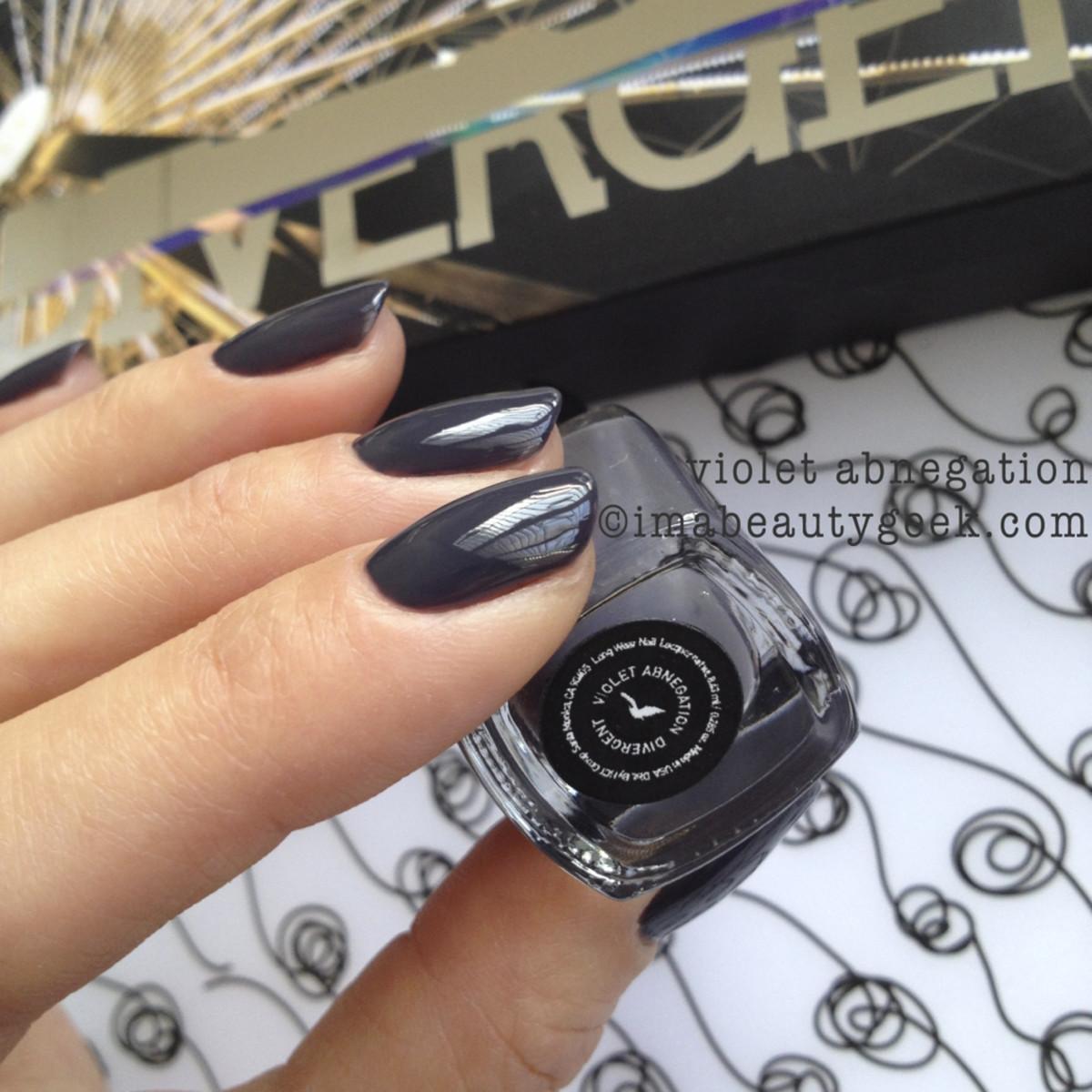 Divergent Violet Abnegation Polish_Divergent cosmetics
