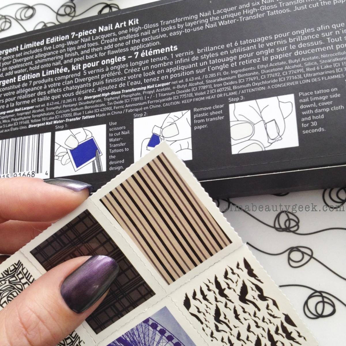 Divergent nail tattoos_divergent cosmetics