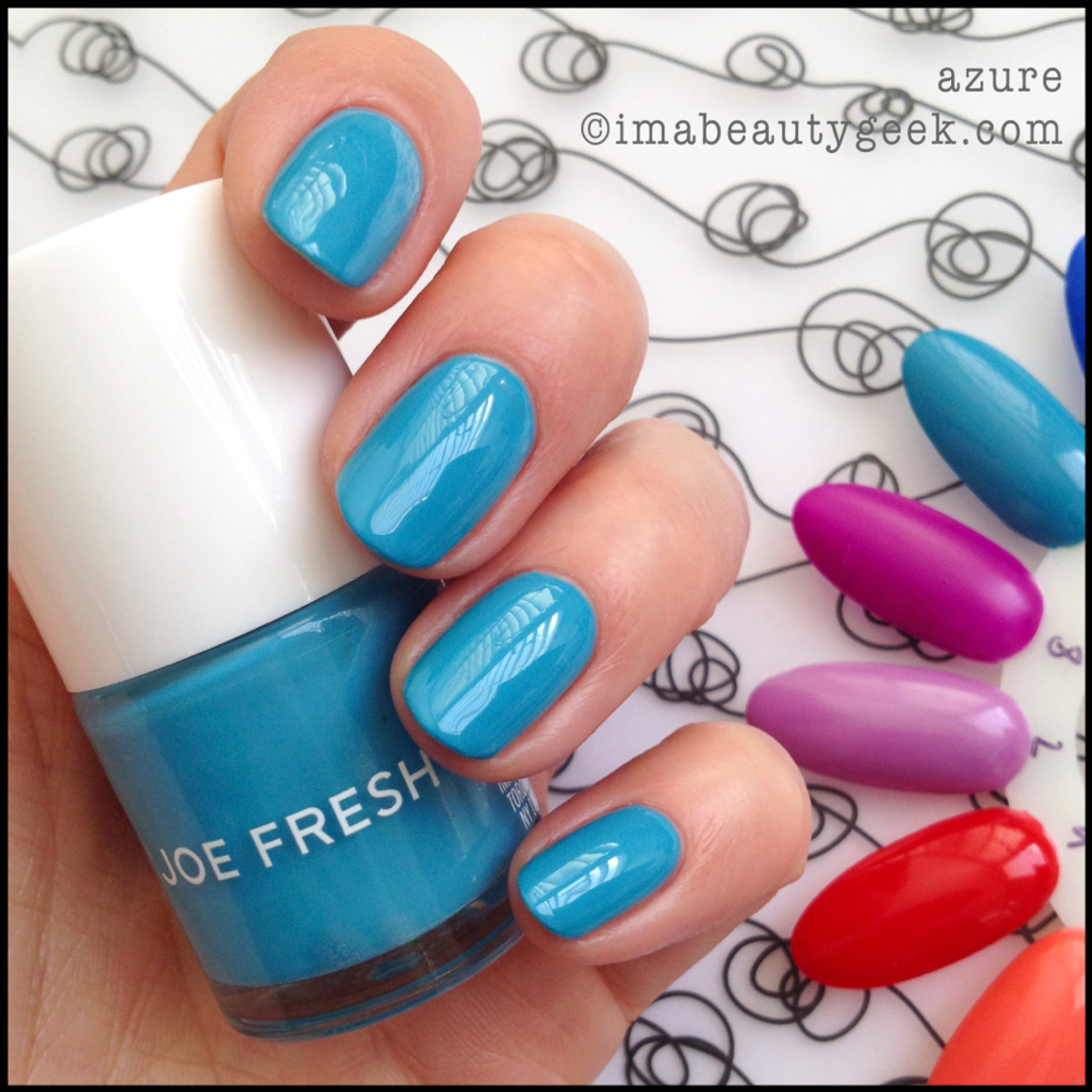 Joe Fresh Polish Azure