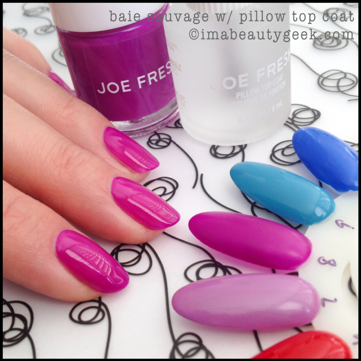Joe Fresh Polish Baie Sauvage with Pillow Top Coat
