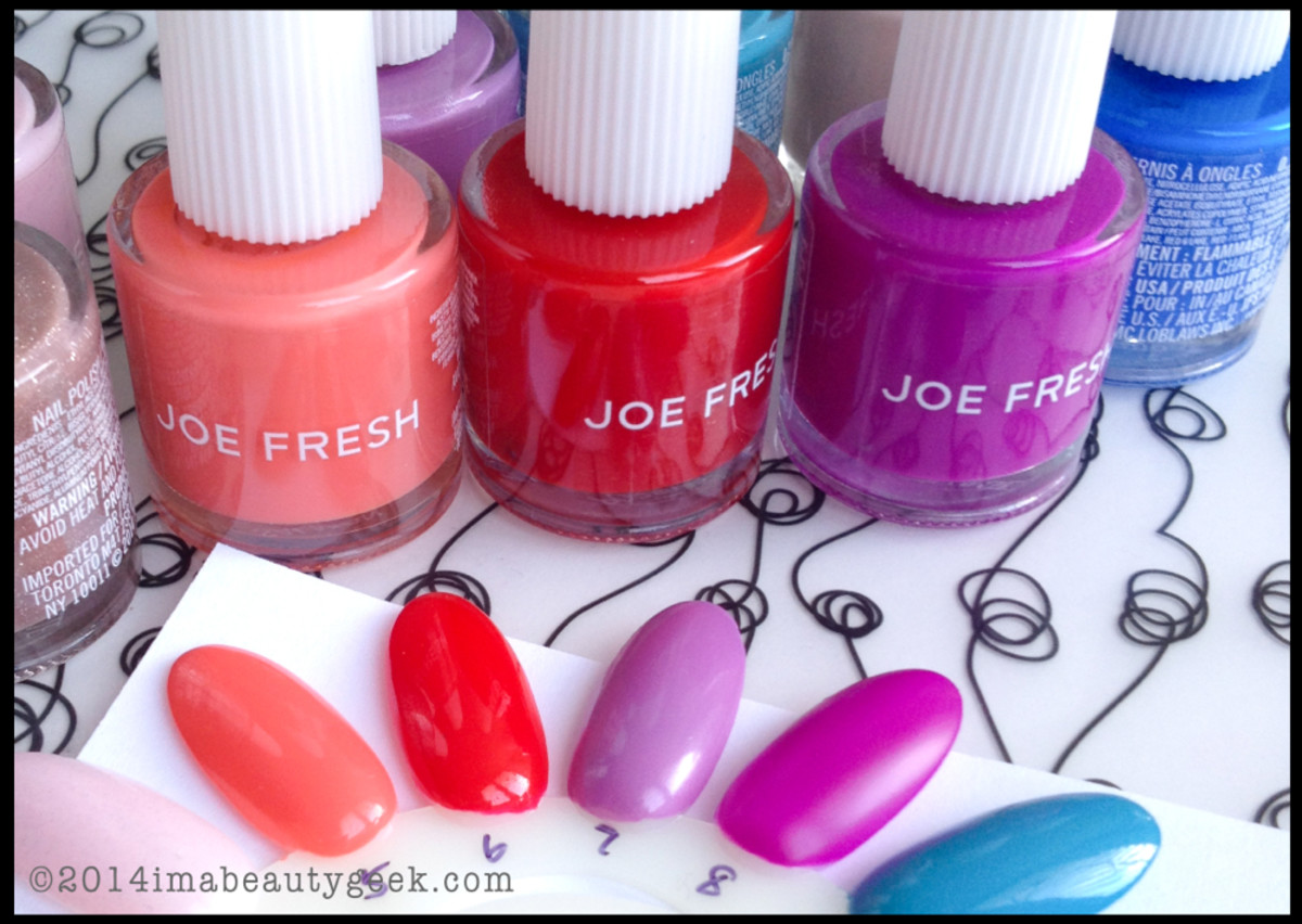 Joe Fresh Polish Spring 2014
