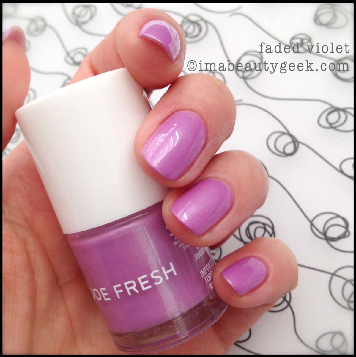 Joe Fresh Polish Faded Violet