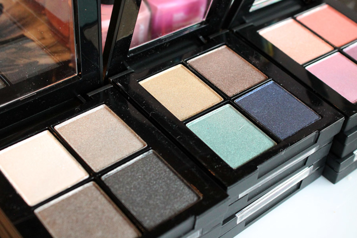 Sonia Kashuk Spring 2014_Sonia Kashuk Eye Shadow Quads_Up in Smoke_Island Dreams