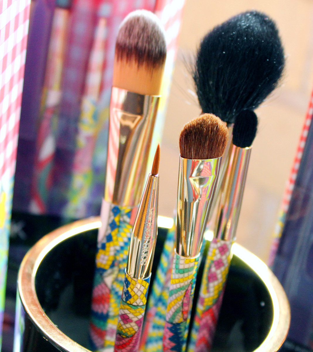 Sonia Kashuk Spring 2014_Sonia Kashuk Brush Couture Five-Piece Brush Set