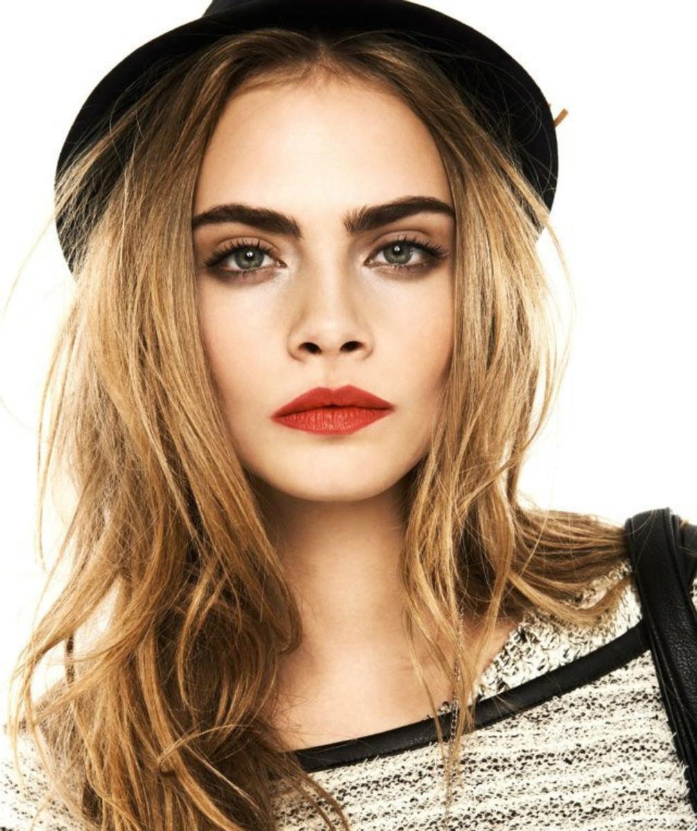 bold lips smokey eyes_Cara_desk to date makeup