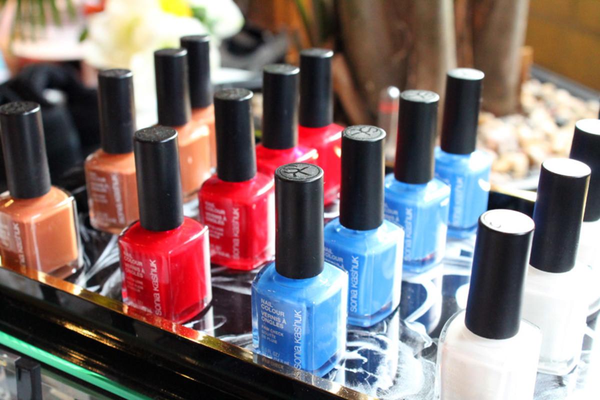 Sonia Kashuk Spring 2014 nail colour