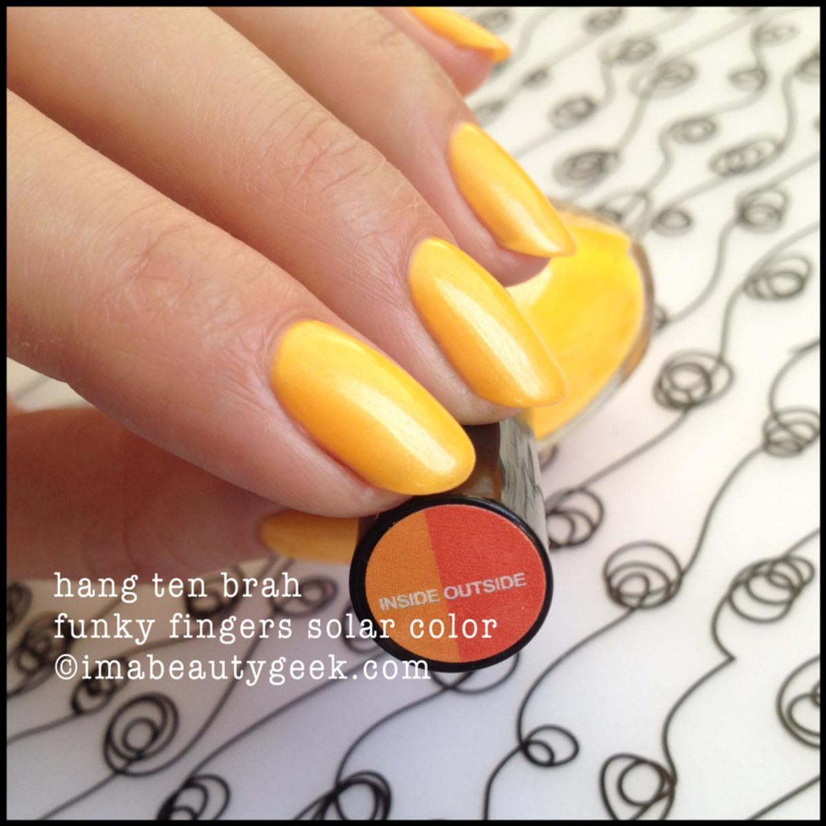 Funky Fingers Hang Ten Brah Solar-2