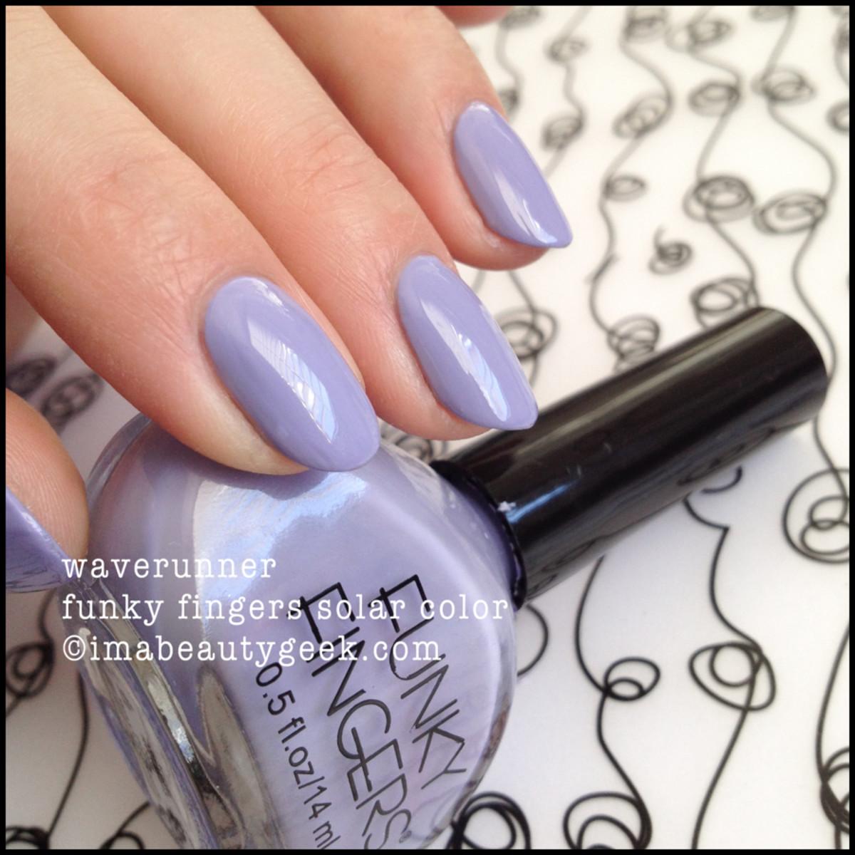Funky Fingers Solar Color Polish: It\'s Neat - Beautygeeks