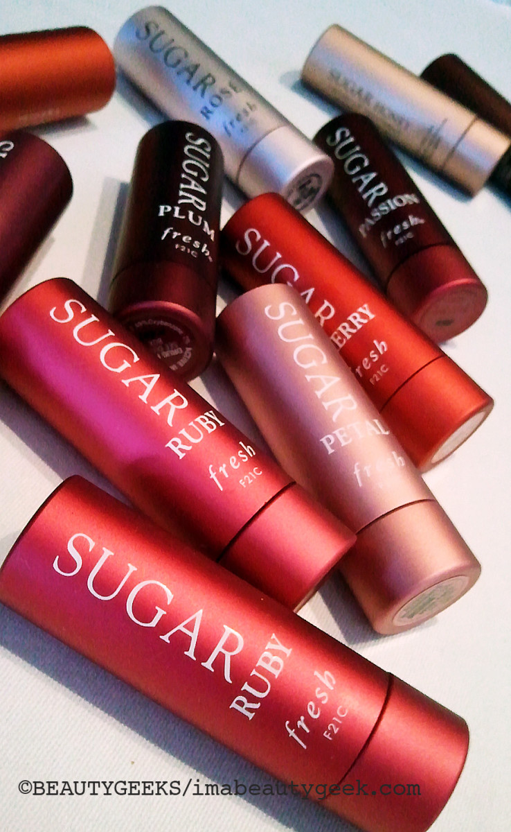 Fresh Sugar Ruby lip treatment ©BEAUTYGEEKS/imabeautygeek.com