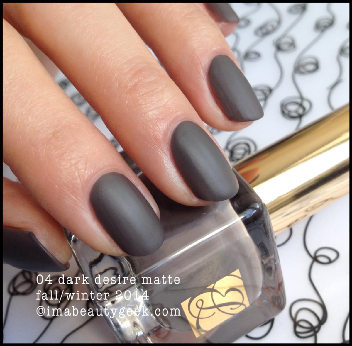 Estee Lauder Dark Desire Matte fall 2014