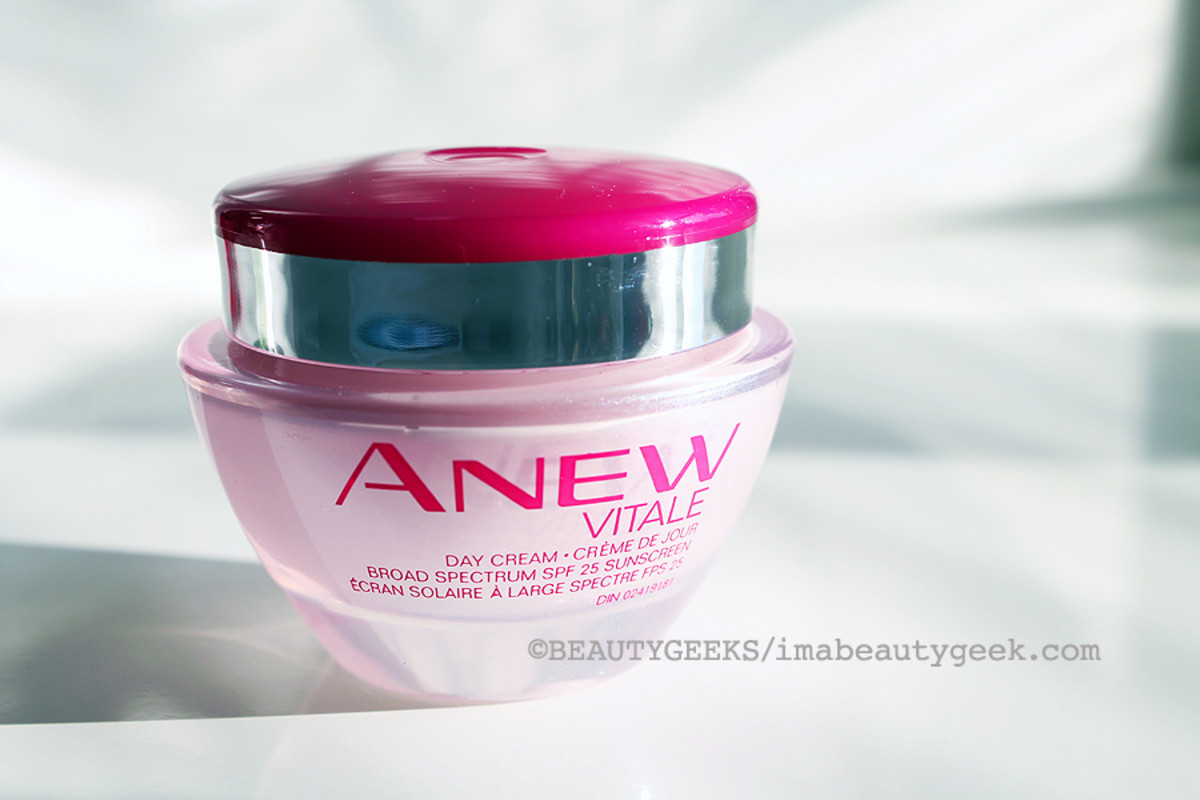 pink ribbon beauty_Avon Anew Day Cream_night cream also available