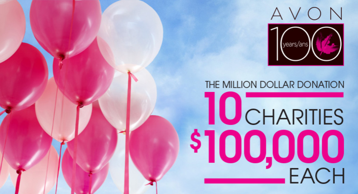pink ribbon beauty_Avon Canada donates 1 million dollars