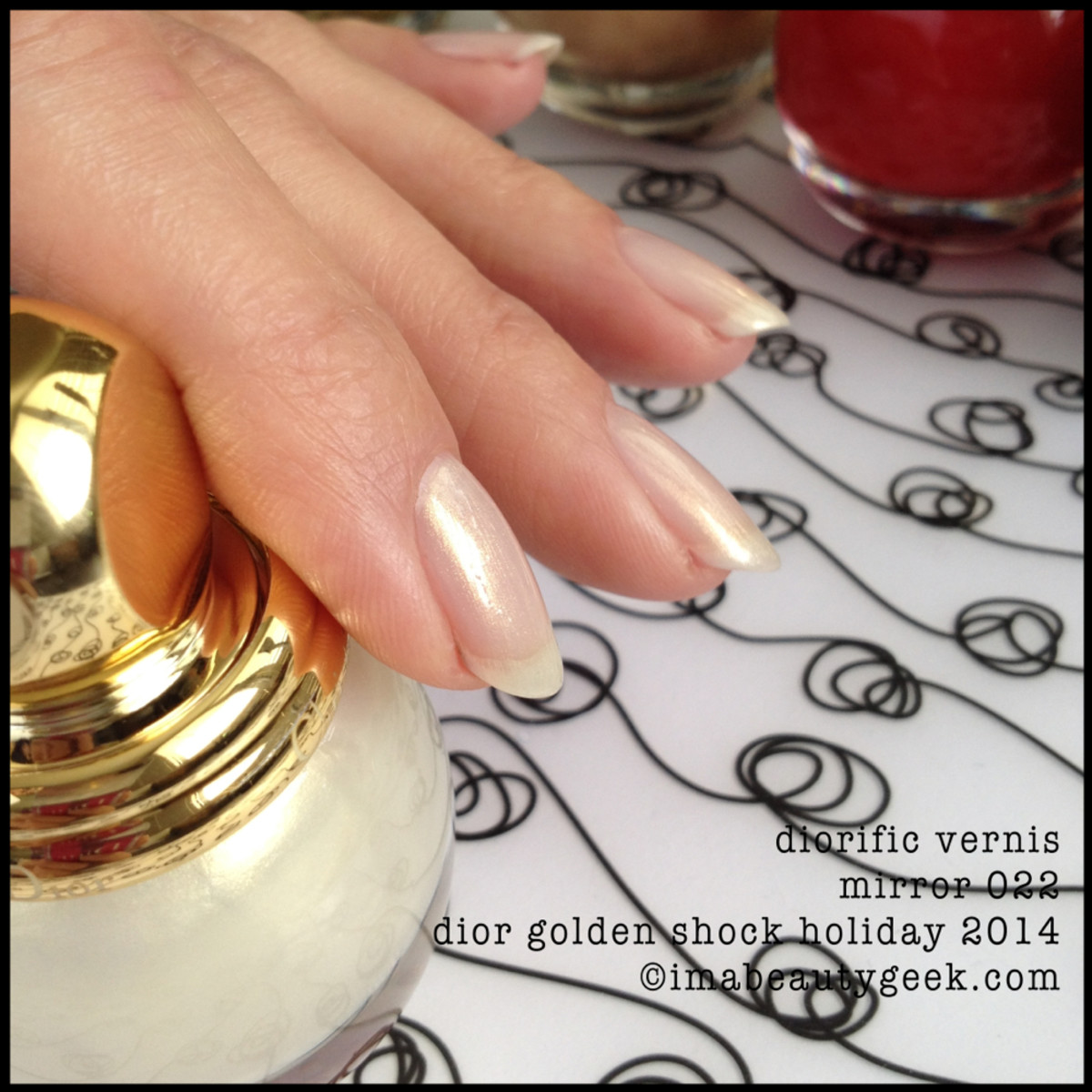 Dior Golden Shock Holiday 2014 Vernis Mirror 022