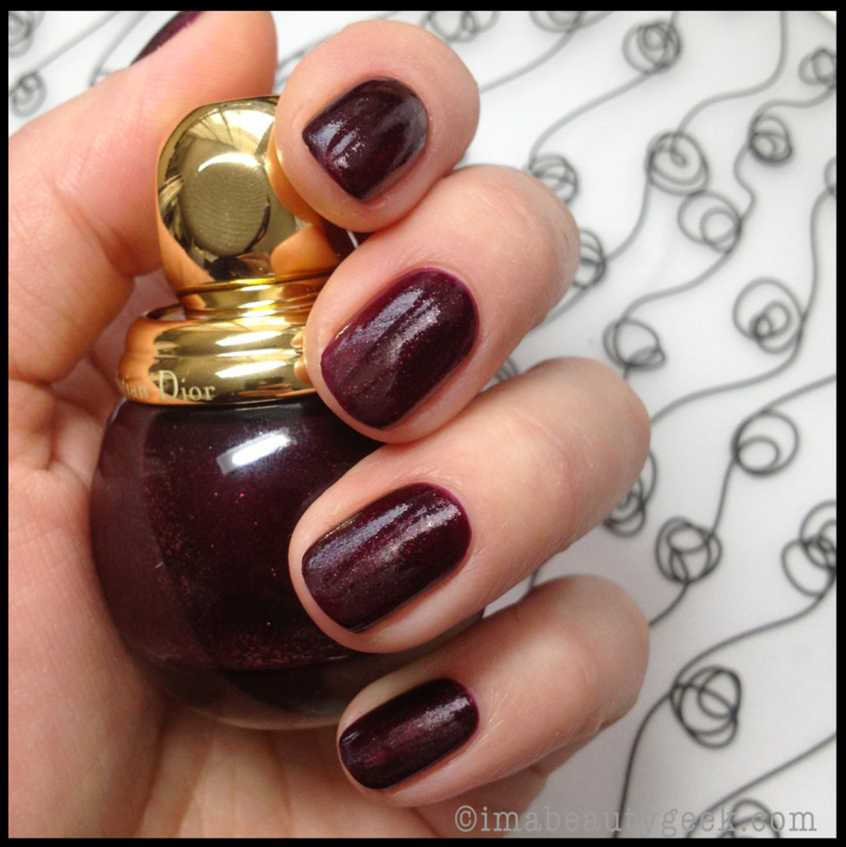 Dior Holiday 2013 Dior Diorific Vernis in Minuit 1