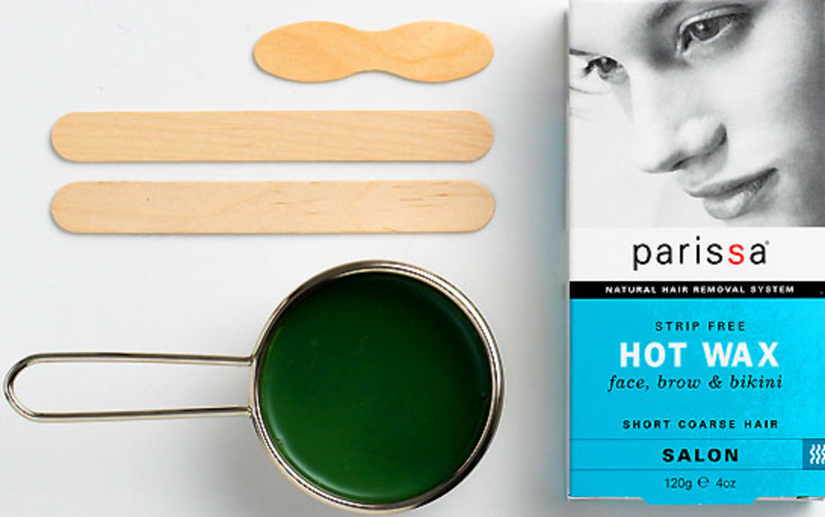 Moustache removal: Parissa Hot Wax