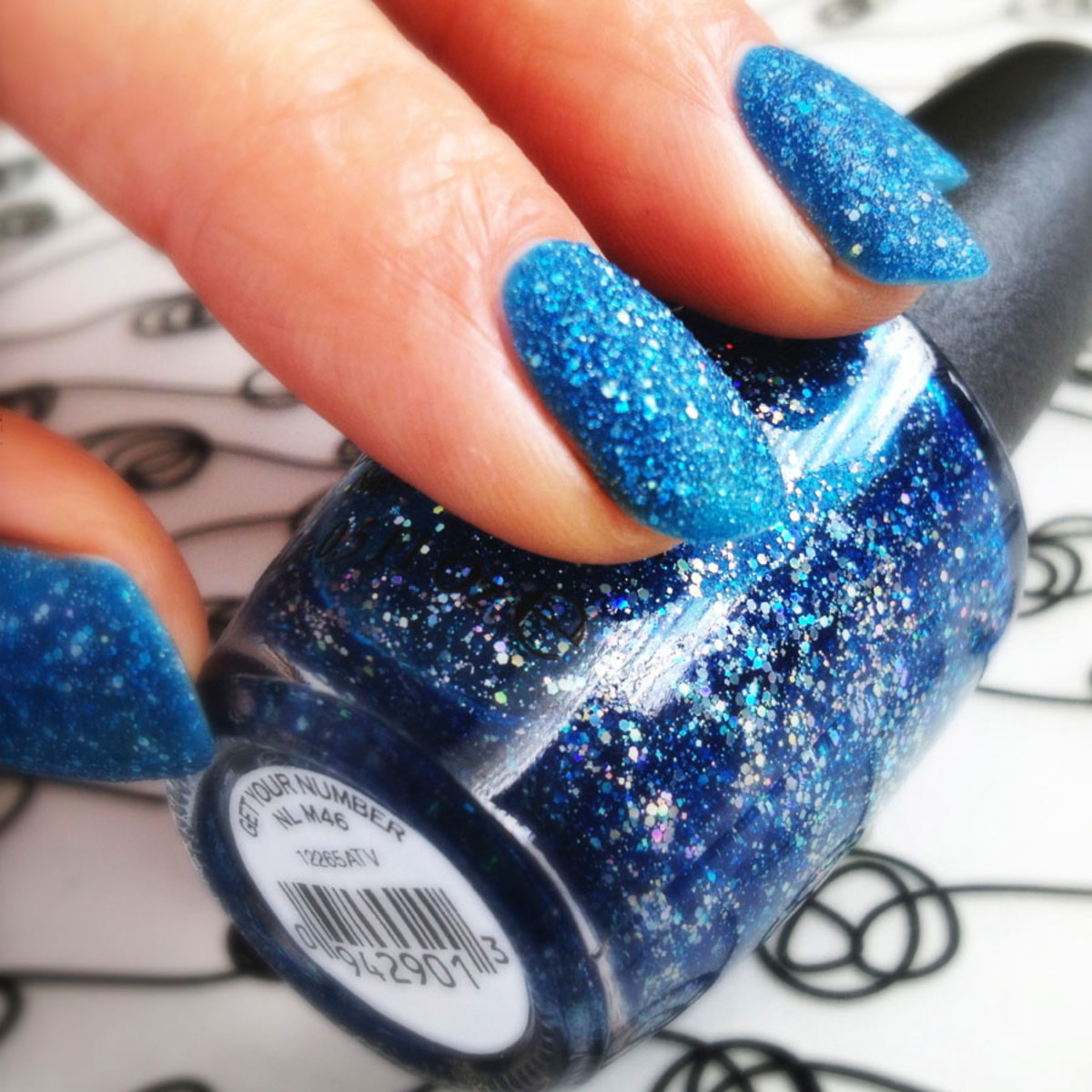 OPI Get Your Number Liquid Sand_Mariah Carey Collection