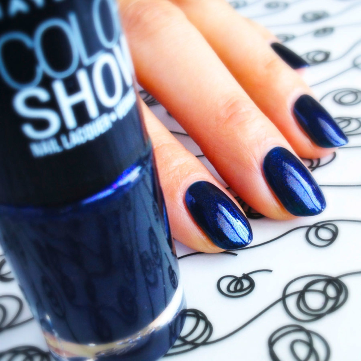 Maybelline In The Mood For Indigo Swatch