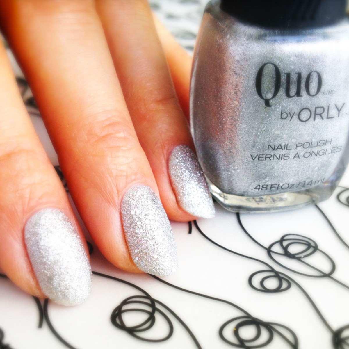 Quo by Orly Mega Silver