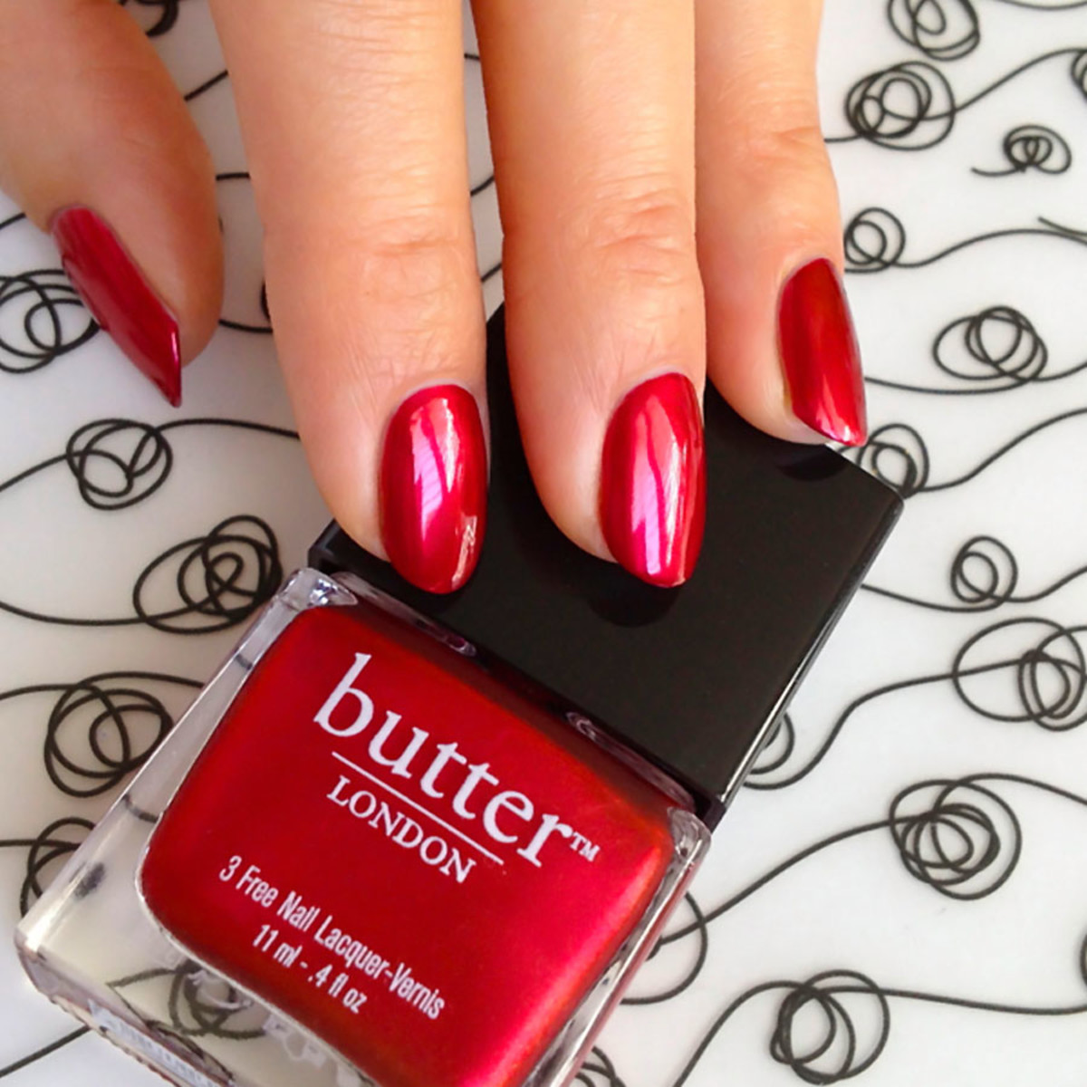 Butter London Knees Up Swatch