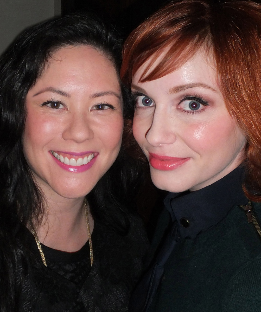 with Christina Hendricks