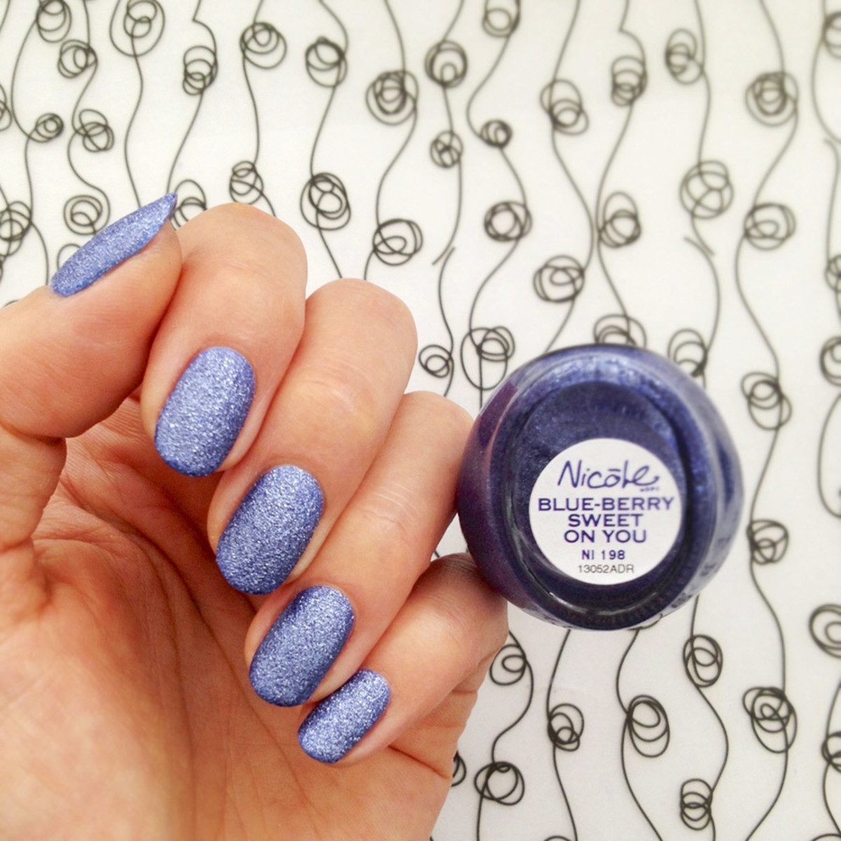 Nicole by OPI in Blue-Berry Sweet On You
