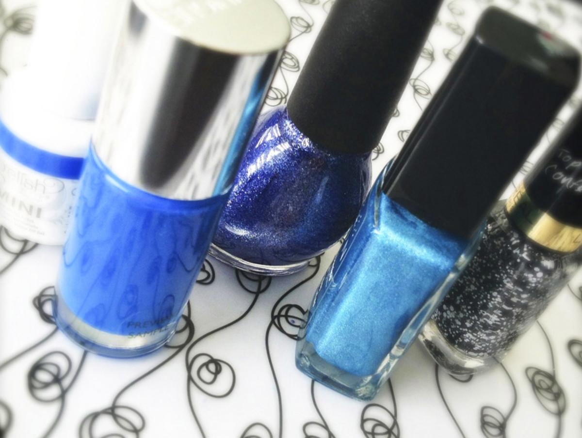 Best blue nail polish summer 2013