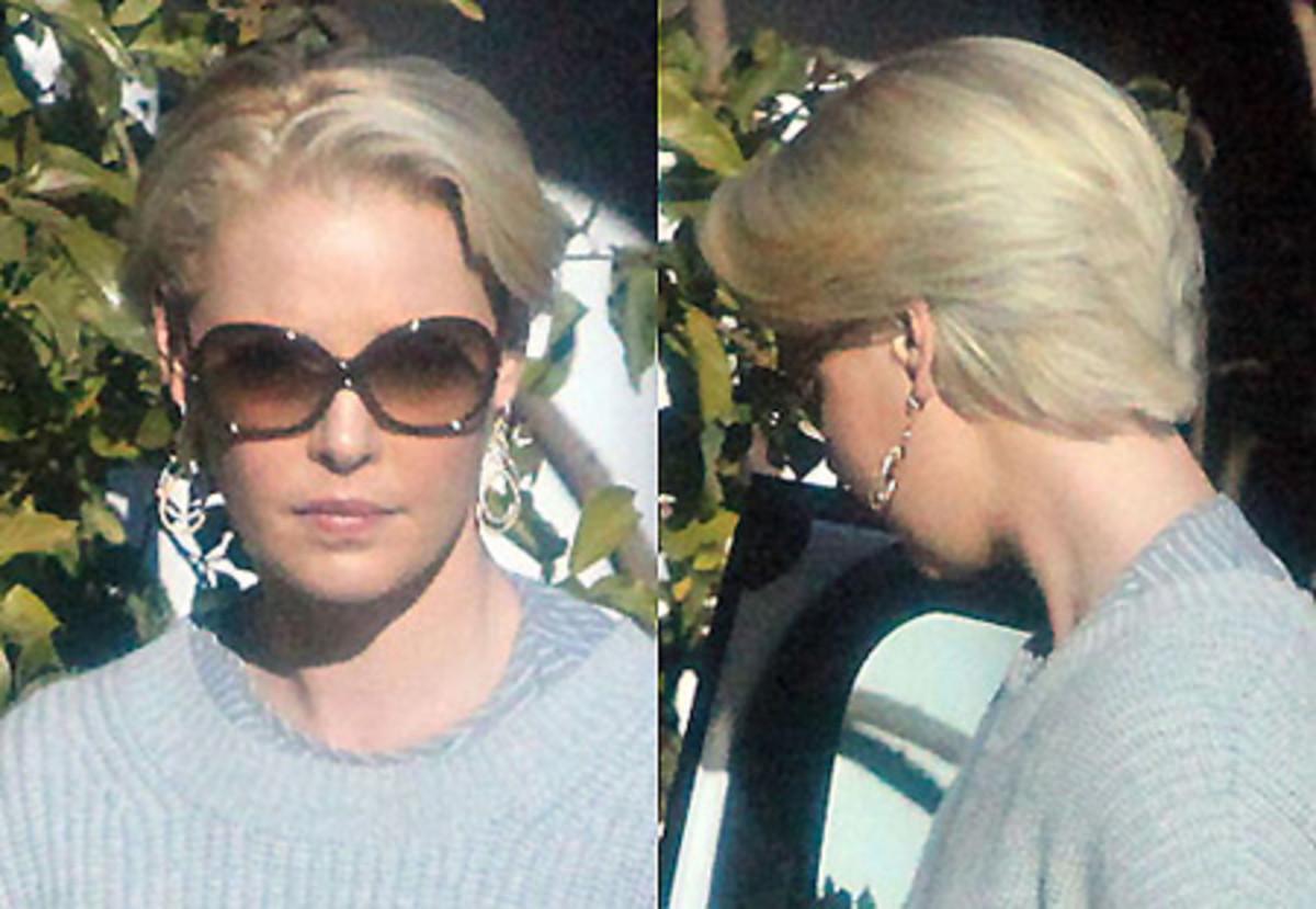 Katherine Heigl's new short hair