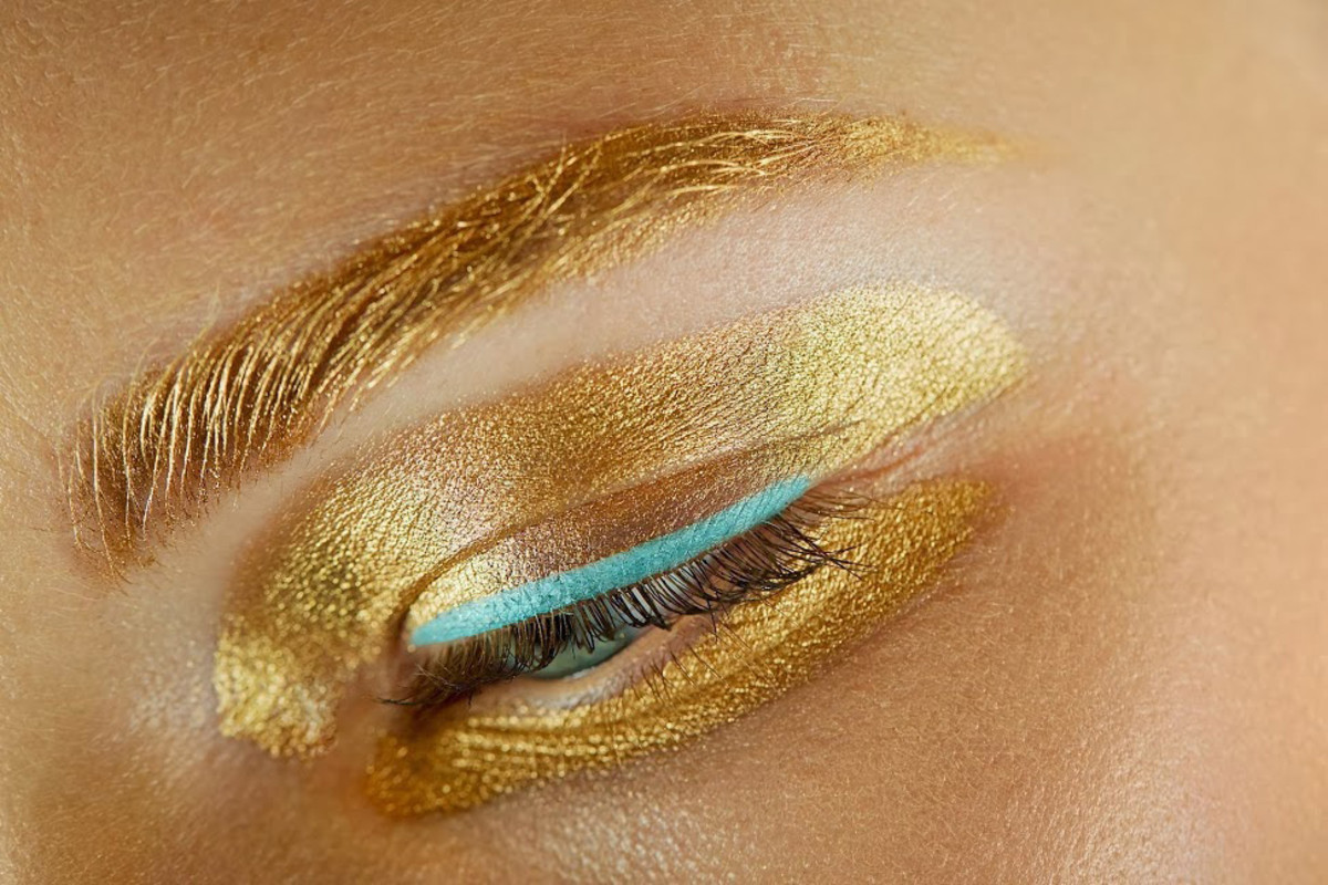 Christian Dior Spring 2014 ready to wear_eye closeup