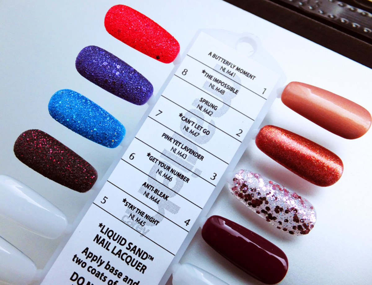 Mariah Carey by OPI collection nail polish shades