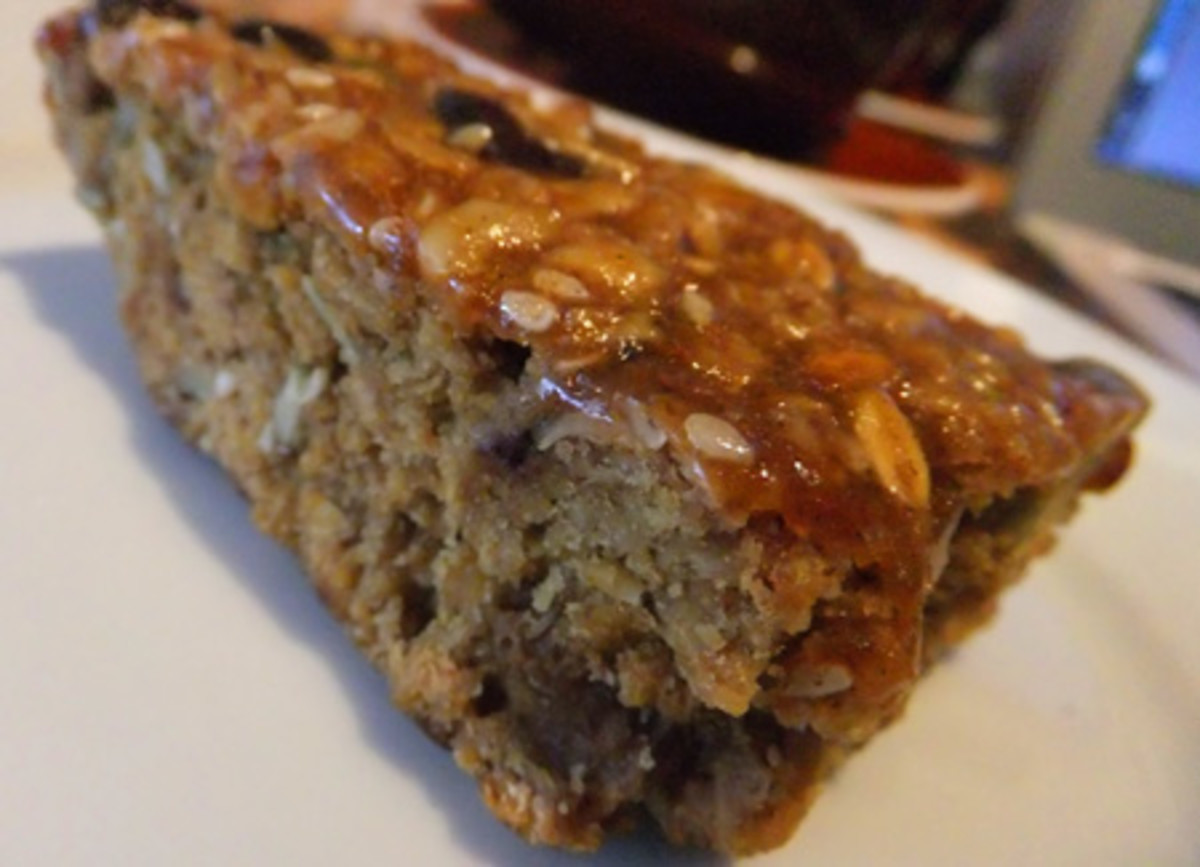 Oatmeal raisin bar at Crafted on Ossington
