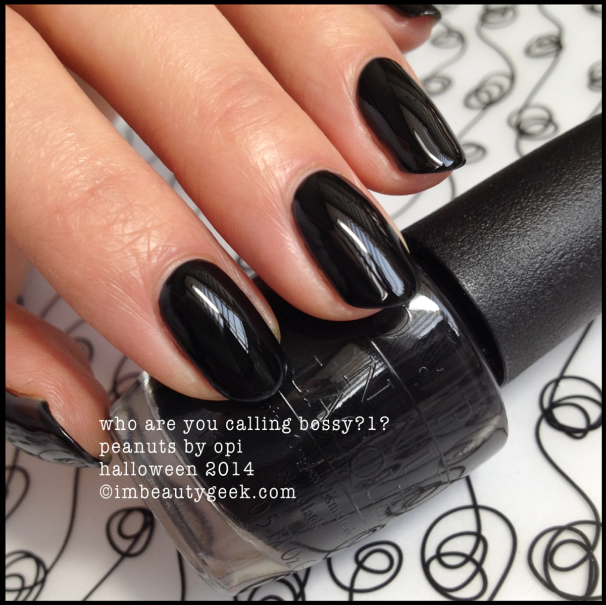 OPI Who Are You Calling Bossy Peanuts by OPI Halloween 2014