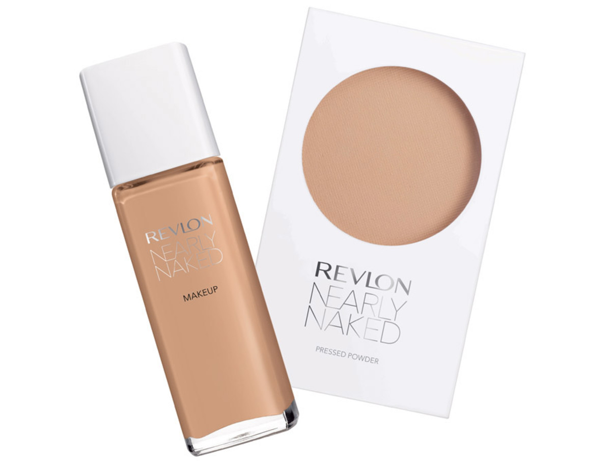 Revlon Nearly Naked Foundation and Pressed Powder