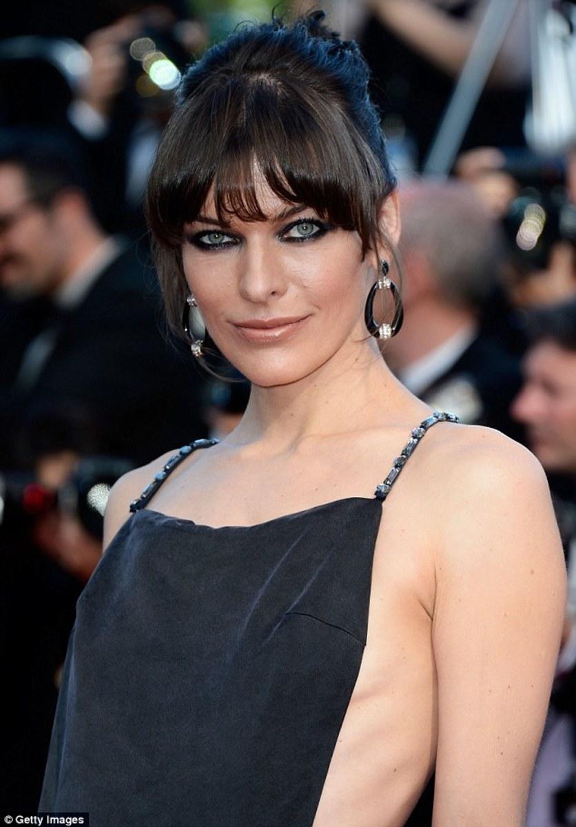 Milla Jovovich at Cannes, 2013