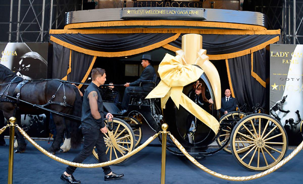 """2_Lady Gaga """"Fame"""" Eau de Parfum Launch - Arrivals"""