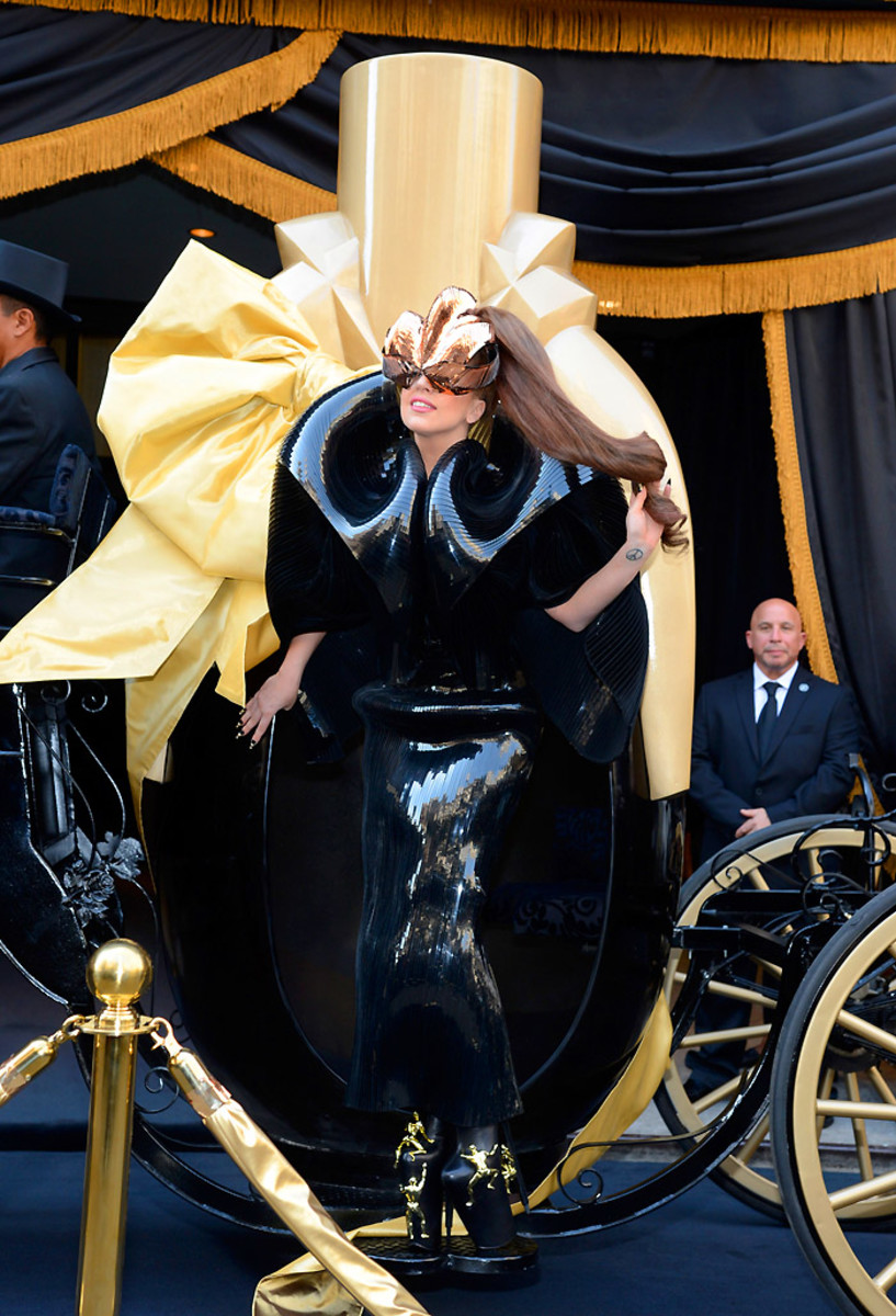 """3_Lady Gaga """"Fame"""" Eau de Parfum Launch - Arrivals"""