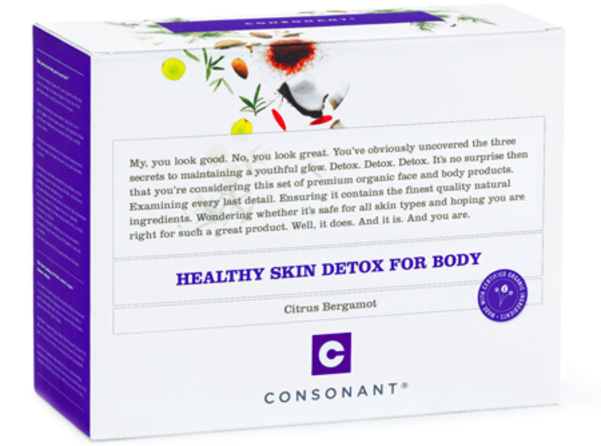 Consonant Healthy Skin Detox Kit for Body