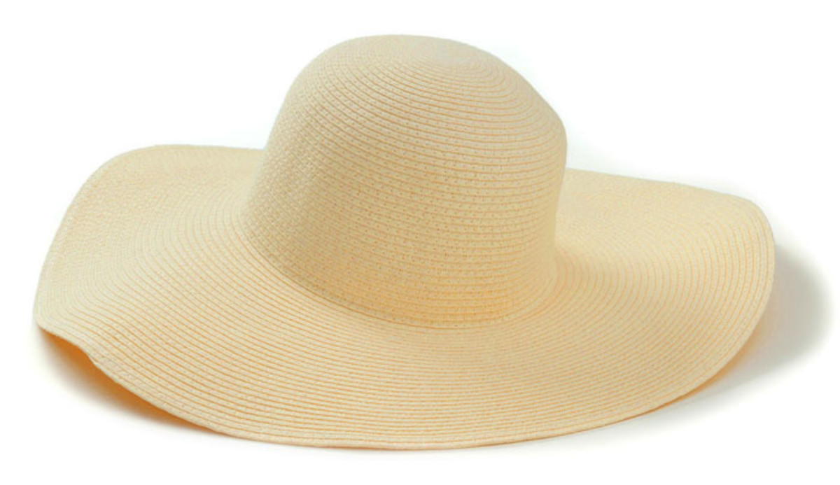 Joe Fresh Straw Hat_$9