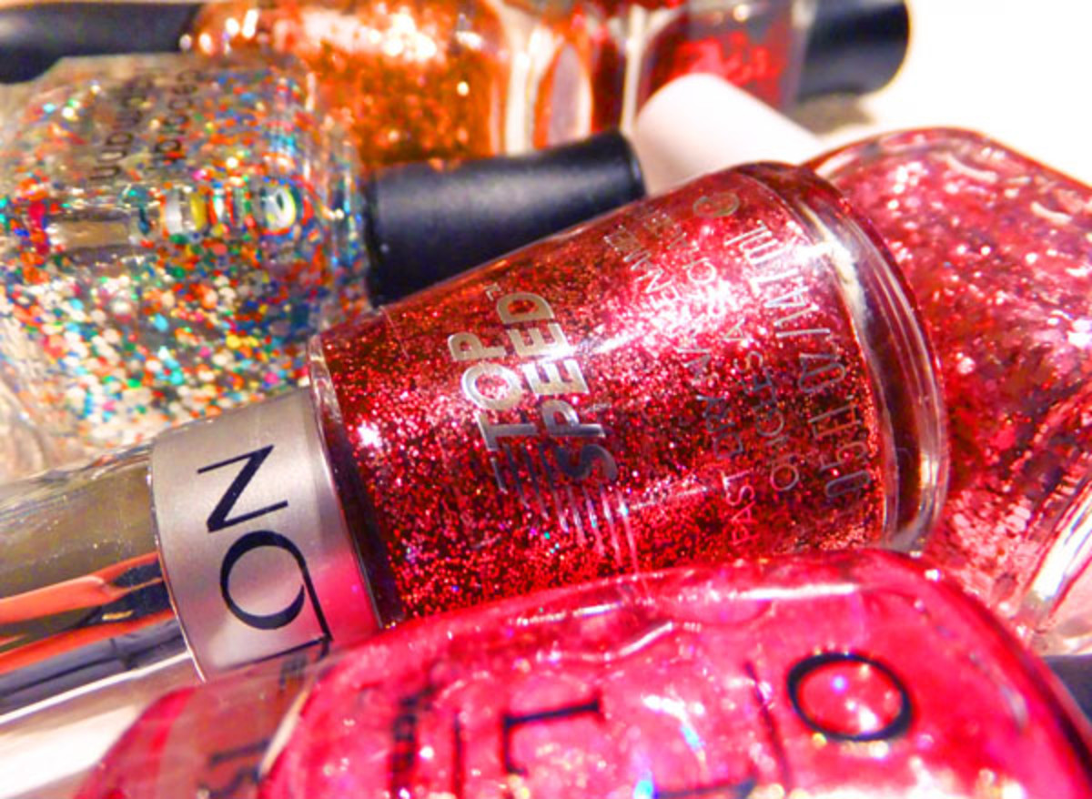 glitter polish_Revlon Top Speed polish in Glitz & Glam