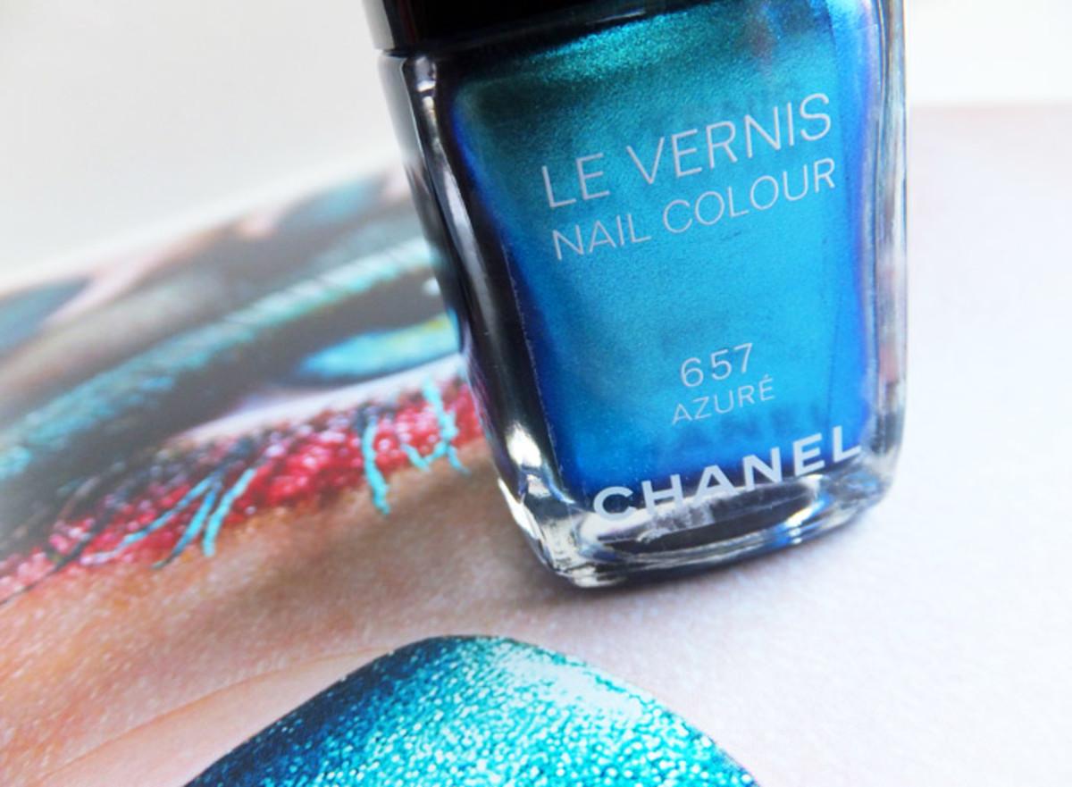 Chanel summer 2013 Azure nail polish