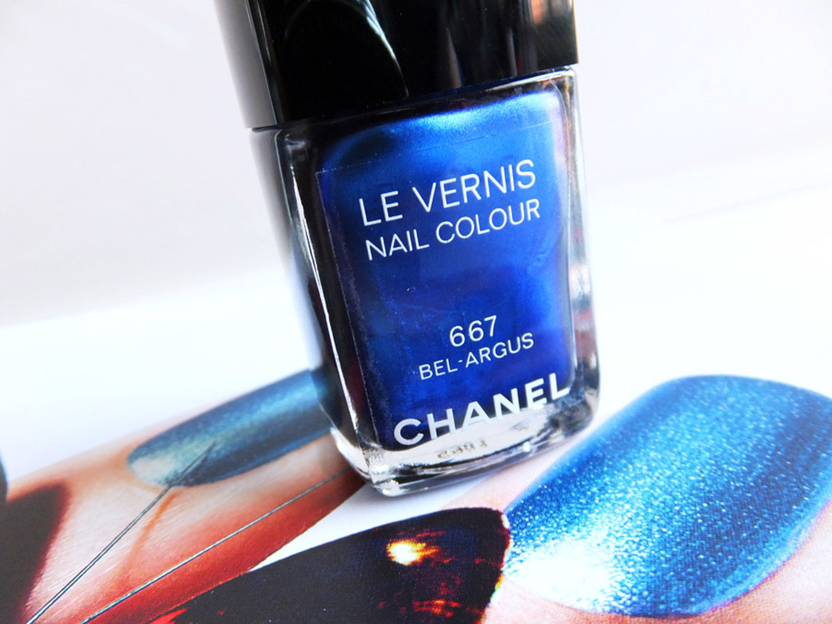 Chanel Le Vernis Nail Colour in 667 Bel-Argus_summer 2013