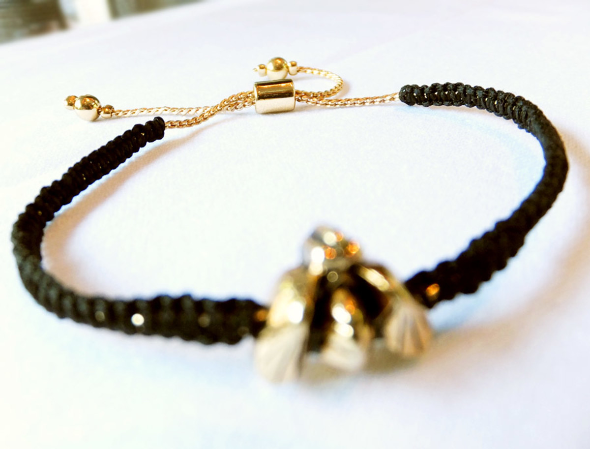 Wild for Bees Bracelet by Jenny Bird for Burt's Bees (2013 limited edition)