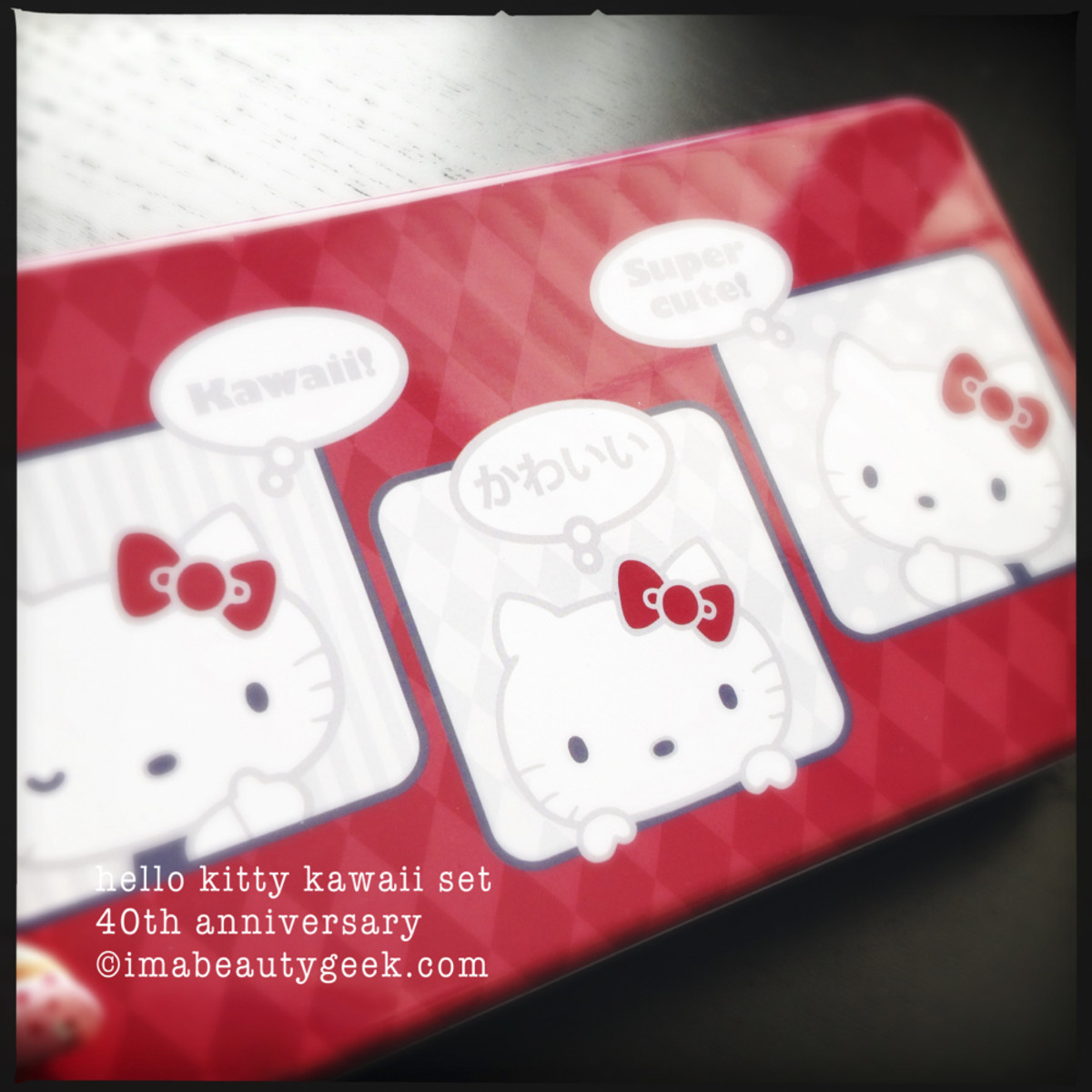 Hello Kitty Nail Stamping Kawaii Kit