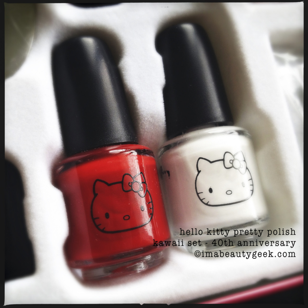Hello Kitty Polish Kawaii 40th Anniversary Set