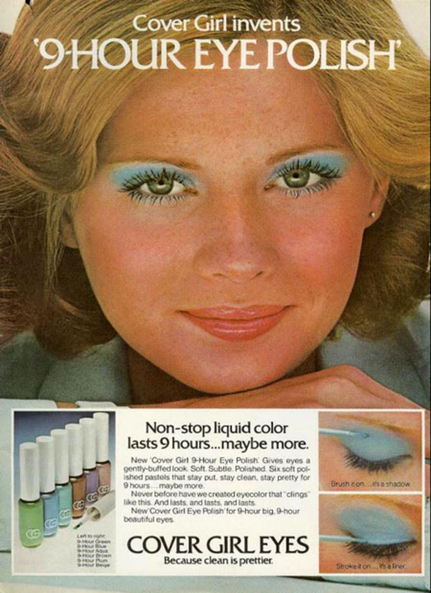 Cover Girl Eyes blue shadow_Shaun Casey 1975
